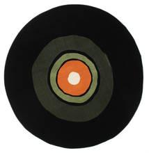 Schallplatte Flatweave - Grøn / Orange tæppe CVD12253