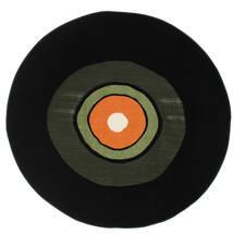 Schallplatte Flatweave - Зеленый / Оранжевый ковер CVD12255