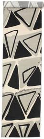 Triangle Dance - Light Grey carpet CVD13307