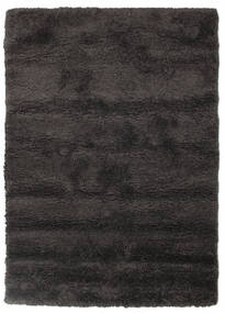 Shaggy Sadeh - Black/Grey Rug 140X200 Modern Black/Dark Brown ( Turkey)