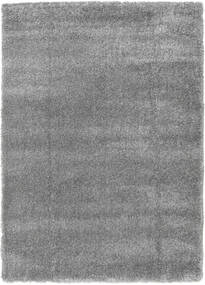 Shaggy Sadeh - Grey Rug 140X200 Modern Dark Grey/Dark Brown ( Turkey)