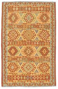 Kilim Afghan Old style carpet NAU635