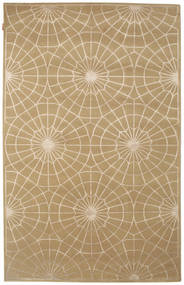 Himalaya Rug 163X255 Authentic  Modern Handknotted Light Brown (Wool, India)