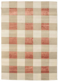 Himalaya 絨毯 174X243 モダン 手織り ベージュ/暗めのベージュ色の ( インド)
