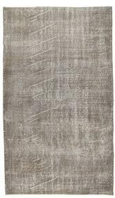 Colored Vintage Rug 118X202 Authentic  Modern Handknotted Light Grey/Dark Grey (Wool, Turkey)