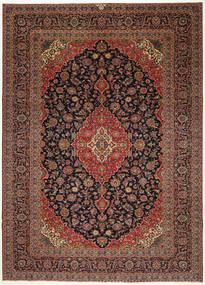 Keshan Patina Matta 287X405 Äkta Orientalisk Handknuten Mörkröd/Svart Stor (Ull, Persien/Iran)