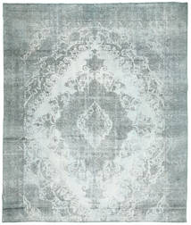 Colored Vintage Rug 283X340 Authentic  Modern Handknotted Light Blue/Light Grey Large (Wool, Persia/Iran)