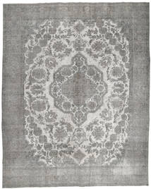 Colored Vintage Rug 297X368 Authentic  Modern Handknotted Light Grey/Dark Grey Large (Wool, Persia/Iran)
