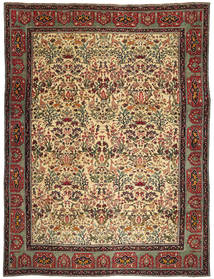 Tabriz Patina Rug 307X422 Authentic Oriental Handknotted Dark Brown/Dark Red Large (Wool, Persia/Iran)