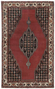Lillian Patina Rug 132X215 Authentic  Oriental Handknotted Rust Red/Dark Brown (Wool, Persia/Iran)