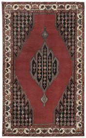 Lillian Patina Matta 132X215 Äkta Orientalisk Handknuten Roströd/Mörkbrun (Ull, Persien/Iran)