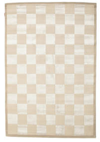 Himalaya Rug 169X251 Authentic Modern Handknotted Beige/Light Grey (Wool, India)