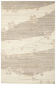 Himalaya Rug 183X277 Authentic  Modern Handknotted Light Brown/Beige (Wool, India)