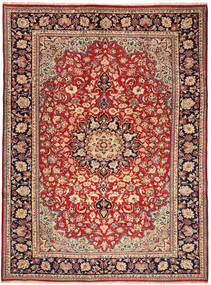 Najafabad Rug 250X347 Authentic  Oriental Handknotted Rust Red/Dark Red Large (Wool, Persia/Iran)
