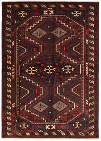 Lori Rug 180X260 Authentic  Oriental Handknotted Dark Brown/Dark Red (Wool, Persia/Iran)
