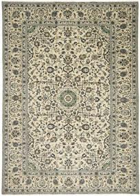 Keshan Matta 238X333 Äkta Orientalisk Handknuten Mörkgrå/Beige (Ull, Persien/Iran)