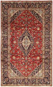 Keshan Matto 192X320 Itämainen Käsinsolmittu Tummanruskea/Tummanpunainen (Villa, Persia/Iran)