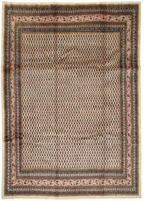 Arak Rug 245X345 Authentic  Oriental Handknotted Dark Brown/Dark Red (Wool, Persia/Iran)