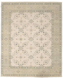 Ziegler 絨毯 246X302 オリエンタル 手織り 薄茶色/ベージュ (ウール, インド)