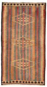 Kilim Fars Rug 140X255 Authentic  Oriental Handwoven Light Brown/Orange (Wool, Persia/Iran)