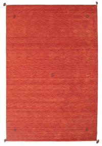 Loribaf Loom Rug 202X302 Authentic  Modern Handknotted Rust Red/Orange (Wool, India)