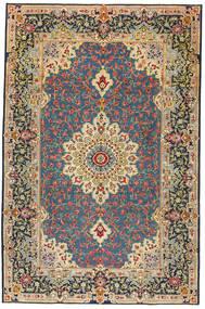 Keshan Patina Koberec 208X317 Orientální Ručně Tkaný Tmavě Modrý/Tmavošedý (Vlna, Persie/Írán)