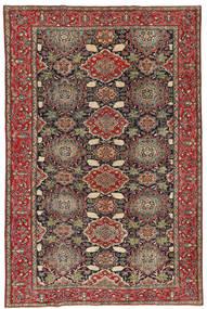 Najafabad Patina Rug 200X307 Authentic  Oriental Handknotted Dark Grey/Light Brown (Wool, Persia/Iran)