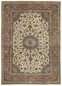 Kashmar Patina Alfombra 245X343 Oriental Hecha A Mano Gris Oscuro/Marrón (Lana, Persia/Irán)