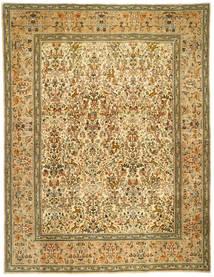 Tabriz Patina Tabatabi Matto 300X390 Itämainen Käsinsolmittu Ruskea/Vaaleanruskea Isot (Villa, Persia/Iran)