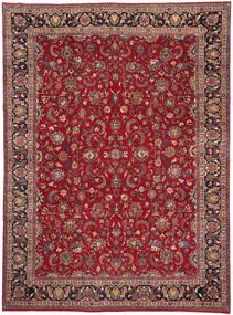 Mashad Patina Rug 252X340 Authentic  Oriental Handknotted Dark Red/Crimson Red Large (Wool, Persia/Iran)