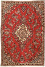 Hamadan Shahrbaf Patina Matto 230X350 Itämainen Käsinsolmittu Ruoste/Tummanpunainen (Villa, Persia/Iran)