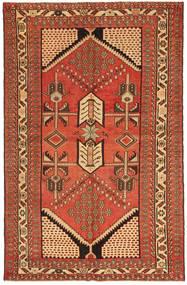 Савех Патина Ковер 135X208 Ковры Ручной Работы Красный/Коричневый (Шерсть, Персия/Иран)