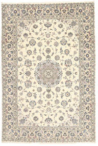 Nain 6La Habibian Rug 200X296 Authentic Oriental Handknotted Beige/Light Brown (Wool/Silk, Persia/Iran)