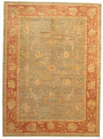 Oushak Rug 304X418 Authentic  Oriental Handknotted Light Brown/Brown Large (Wool, Turkey)