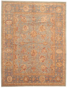 Oushak Rug 304X398 Authentic  Oriental Handknotted Light Brown Large (Wool, Turkey)