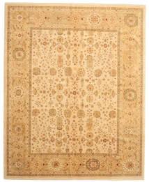 Oushak Rug 304X374 Authentic  Oriental Handknotted Light Brown/Dark Beige Large (Wool, Turkey)