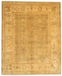 Oushak Rug 323X396 Authentic  Oriental Handknotted Light Brown Large (Wool, Turkey)