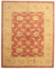 Oushak Rug 303X380 Authentic  Oriental Handknotted Light Brown/Orange Large (Wool, Turkey)