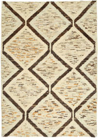 Barchi/Moroccan Berber Alfombra 200X277 Moderna Hecha A Mano Beige/Beige Oscuro (Lana, Afganistán)