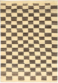 Gabbeh Persia Rug 108X156 Authentic  Modern Handknotted Beige/Light Brown (Wool, Persia/Iran)