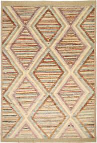 Barchi/Moroccan Berber Tapis 192X284 Moderne Fait Main Marron Clair/Beige Foncé (Laine, Afghanistan)
