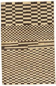 Gabbeh Persan Tapis 83X128 Moderne Fait Main Marron Clair/Marron Foncé (Laine, Perse/Iran)
