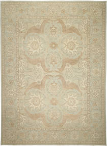 Ziegler Ariana Rug 305X414 Authentic  Oriental Handknotted Olive Green/Dark Beige Large (Wool, Afghanistan)