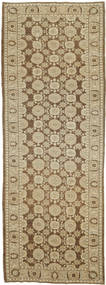 Ziegler Ariana Rug 128X367 Authentic  Oriental Handknotted Hallway Runner  Light Brown/Light Green (Wool, Afghanistan)