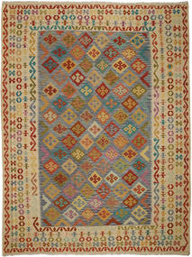 Kilim Afghan Old style carpet ABCO912