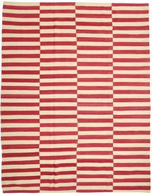 Kelim Moderní Koberec 223X285 Moderní Ruční Tkaní Béžová/Červenožlutá (Vlna, Afghánistán)