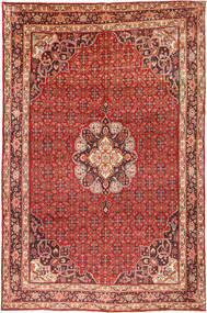 Bidjar Rug 206X315 Authentic  Oriental Handknotted Dark Red/Brown/Rust Red (Wool, Persia/Iran)