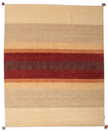 Loribaf Loom Rug 173X240 Authentic  Modern Handknotted Dark Beige/Dark Red (Wool, India)