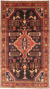 Nahavand Teppe 106X194 Ekte Orientalsk Håndknyttet Mørk Brun/Rust (Ull, Persia/Iran)