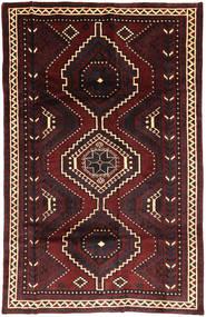 Lori Matto 164X260 Itämainen Käsinsolmittu Musta/Tummanpunainen (Villa, Persia/Iran)
